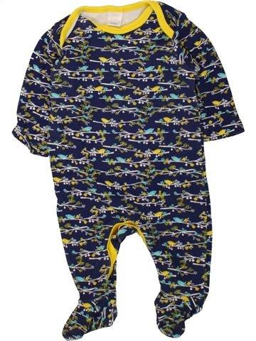 Pyjama 1 pièce fille MINI CLUB bleu 3 mois été #1494763_1