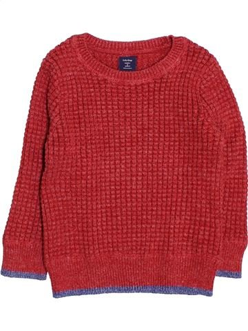 Pull garçon GAP rouge 2 ans hiver #1494777_1