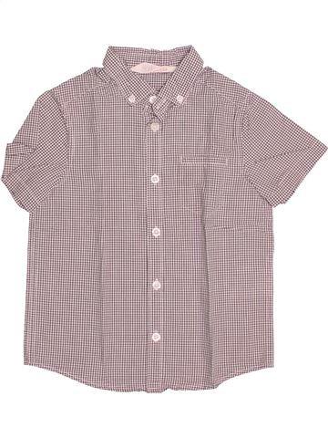 Chemise manches courtes garçon H&M rose 4 ans été #1494792_1
