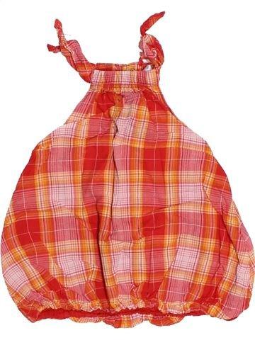 Robe fille KIABI orange 3 mois été #1494794_1