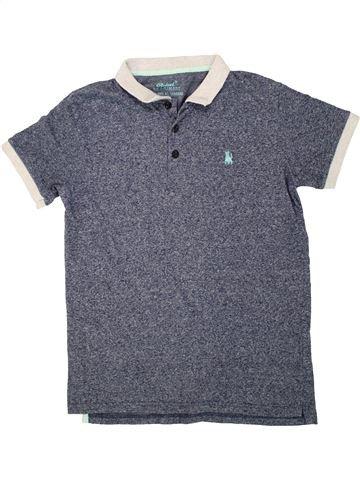 Polo manches courtes garçon PRIMARK bleu 13 ans été #1494812_1