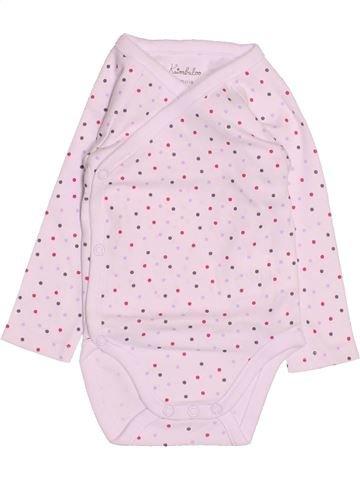 Camiseta de manga larga niña KIMBALOO rosa 3 meses invierno #1494826_1