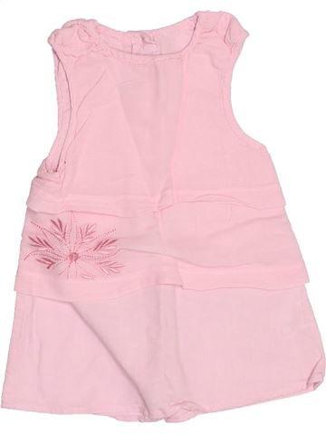 Vestido niña TOUT COMPTE FAIT rosa 3 meses verano #1494837_1