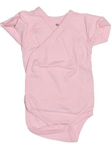 T-shirt manches courtes fille KIABI rose 3 mois été #1494860_1