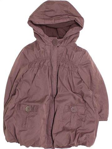 Manteau fille OKAIDI violet 2 ans hiver #1494940_1