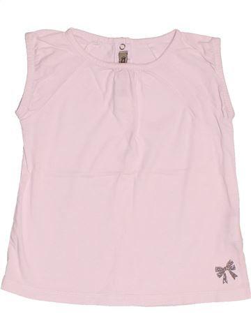 T-shirt sans manches fille TAPE À L'OEIL rose 2 ans été #1495031_1