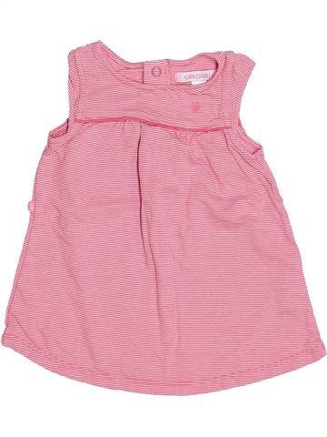 Vestido niña OKAIDI rosa 3 meses verano #1495074_1