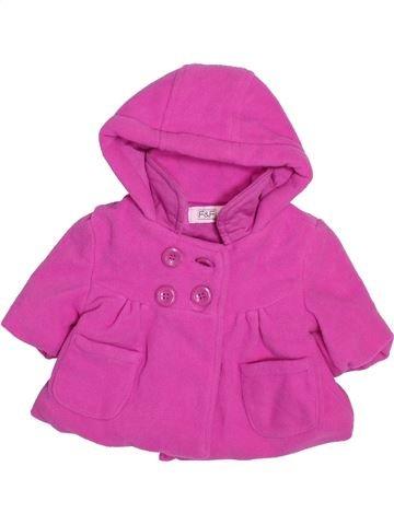 Abrigo niña F&F rosa 0 meses invierno #1495141_1