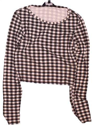 Camiseta de manga larga niña NEW LOOK gris 13 años invierno #1495162_1