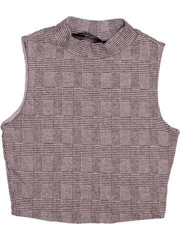 T-shirt sans manches fille NEW LOOK gris 11 ans été #1495237_1