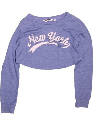 Sweat fille NEW LOOK bleu 11 ans hiver #1495428_1
