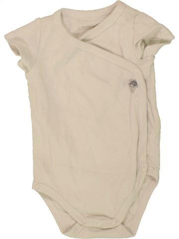T-shirt manches courtes fille SERGENT MAJOR beige 3 mois été #1495878_1