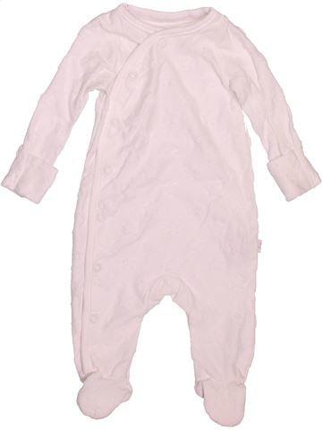 Pyjama 1 pièce unisexe F&F rose 1 mois été #1495881_1