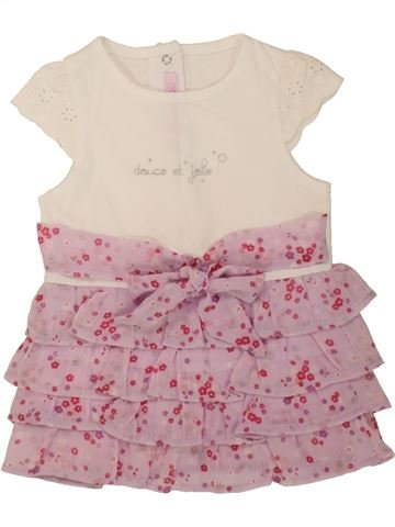 Vestido niña GEMO rosa 6 meses verano #1495886_1