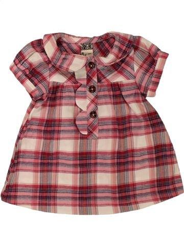 Blusa de manga corta niña TAPE À L'OEIL violeta 6 meses verano #1496068_1