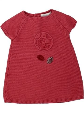 Robe fille OKAIDI rouge 3 mois hiver #1496102_1