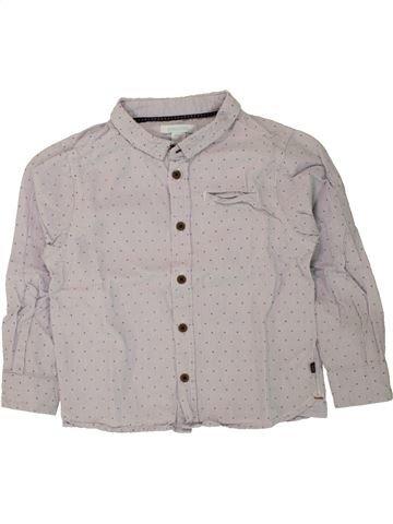 Chemise manches longues garçon OKAIDI gris 3 ans hiver #1496116_1