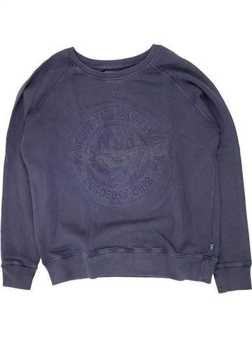 Sweat garçon OKAIDI violet 12 ans hiver #1496170_1