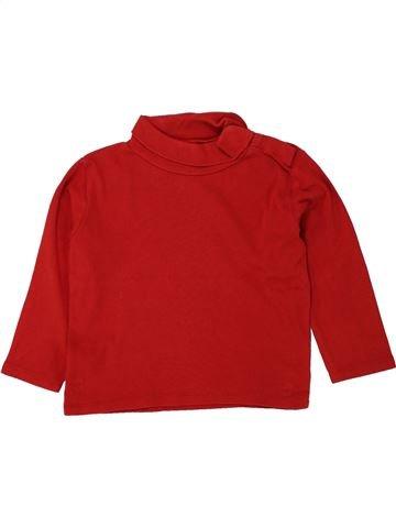 Camiseta de cuello alto unisex KIABI rojo 3 años invierno #1496306_1