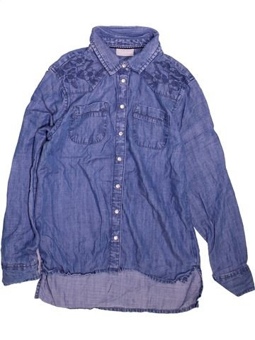 Blouse manches longues fille I LOVE GIRLSWEAR bleu 11 ans hiver #1496329_1