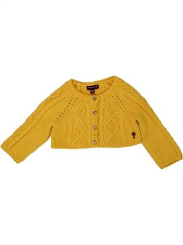 Gilet fille SERGENT MAJOR jaune 6 mois hiver #1496358_1