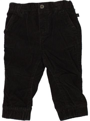 Pantalon garçon OKAIDI noir 12 mois hiver #1496412_1