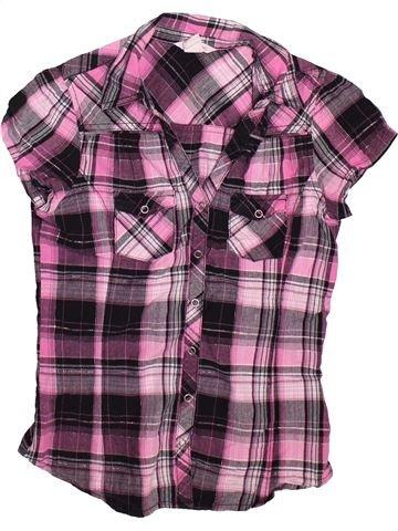 Blusa de manga corta niña H&M violeta 13 años verano #1496431_1
