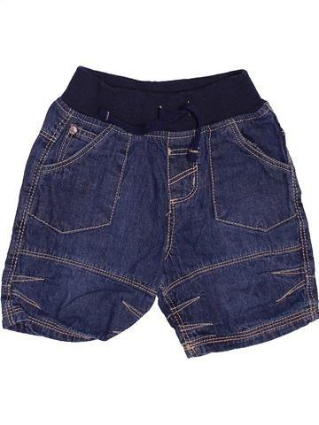 Short - Bermuda garçon TU bleu 9 mois été #1496483_1