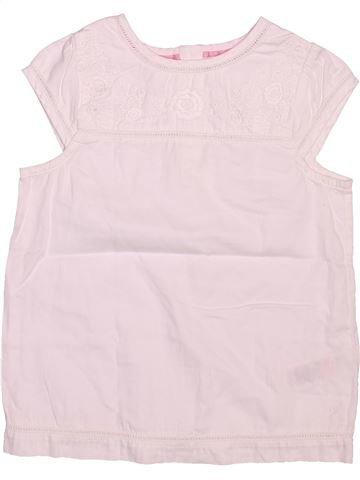 Blusa de manga corta niña MARKS & SPENCER rosa 6 años verano #1496521_1
