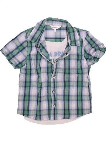Chemise manches courtes garçon KIABI bleu 5 ans été #1496561_1