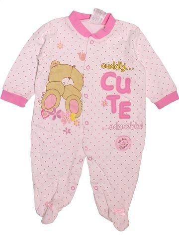 Pyjama 1 pièce fille JUMBO rose 3 mois été #1496583_1