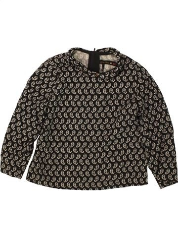 Blusa de manga larga niña IKKS marrón 4 años invierno #1496602_1