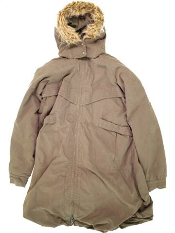 Abrigo niña OKAIDI beige 14 años invierno #1496612_1