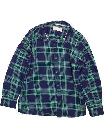 Chemise manches longues garçon ZARA bleu 8 ans hiver #1496670_1