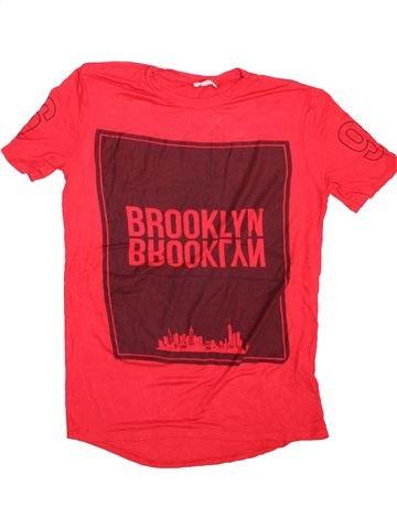 Camiseta de manga corta niño RIVER ISLAND rojo 10 años verano #1496683_1