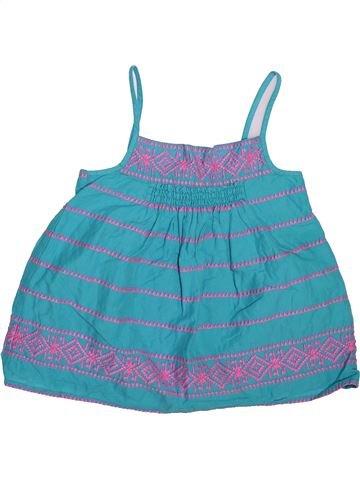 Blusa de manga corta niña MONSOON azul 7 años verano #1496759_1