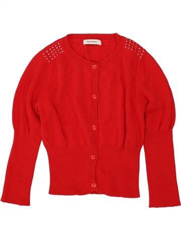Chaleco niña 3 POMMES rojo 6 años invierno #1496872_1