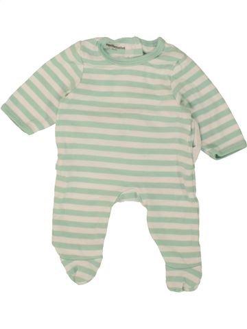 Pijama de 1 pieza niño VERTBAUDET gris 0 meses verano #1496967_1
