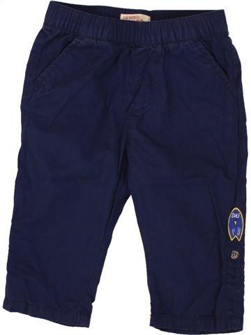 Pantalon garçon DPAM bleu 12 mois été #1496986_1