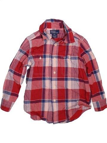 Chemise manches longues garçon RALPH LAUREN marron 4 ans hiver #1497084_1
