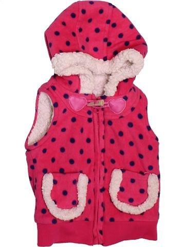 Chaleco niña DUNNES STORES rosa 18 meses invierno #1497099_1