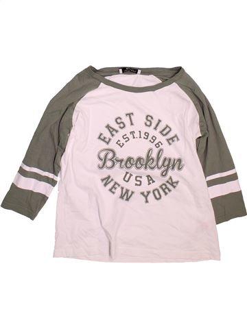 Camiseta de manga corta niña NEW LOOK rosa 14 años verano #1497112_1