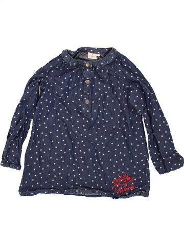 Blusa de manga larga niña DISNEY azul 3 años invierno #1497215_1