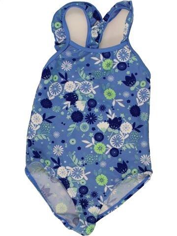 Bañador niña VERTBAUDET azul 4 años verano #1497273_1