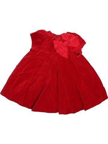 Vestido niña DEBENHAMS rojo 6 meses invierno #1497276_1