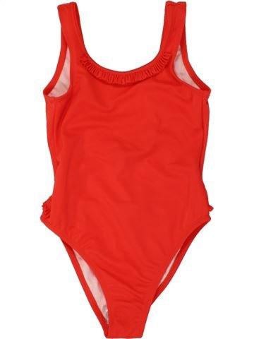 Bañador niña CYRILLUS rojo 4 años verano #1497278_1