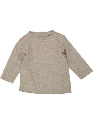 Camiseta de manga larga niño KIMBALOO beige 12 meses invierno #1497285_1