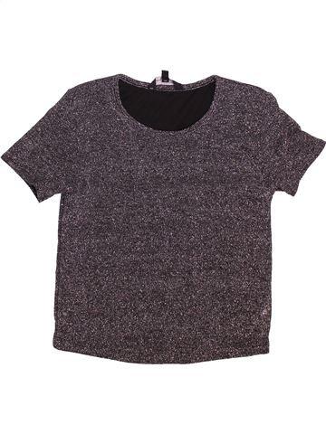 T-shirt manches courtes fille CANDY COUTURE gris 11 ans été #1497319_1