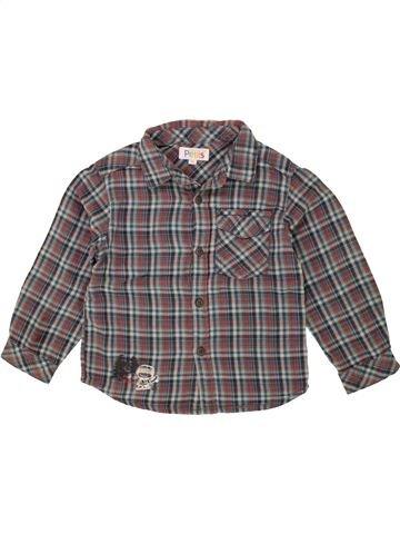 Camisa de manga larga niño LA COMPAGNIE DES PETITS gris 3 años invierno #1497339_1