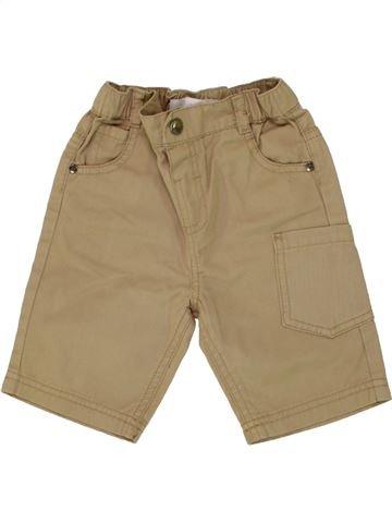 Short-Bermudas niño GEMO marrón 2 años verano #1497388_1